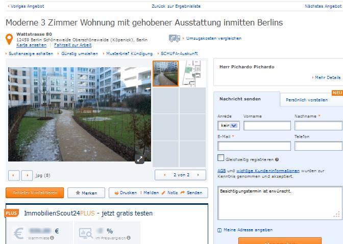moderne 3 zimmer wohnung mit gehobener ausstattung inmitten berlins. Black Bedroom Furniture Sets. Home Design Ideas