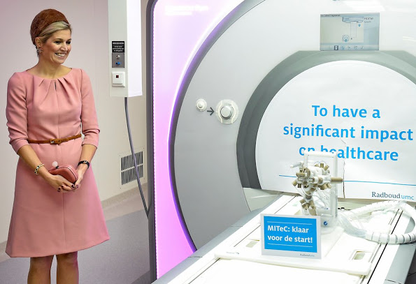 Queen Maxima Visits Medical Centre In Nijmegen
