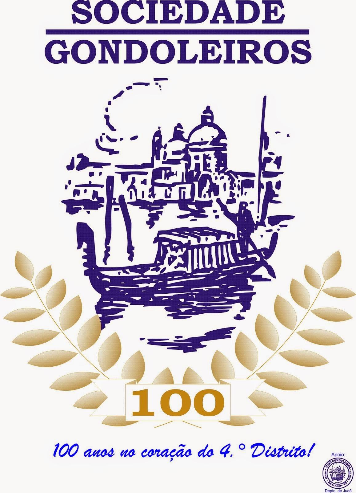 Sociedade Gondoleiros - 100 anos