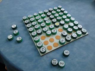 Jogo Matix- números positivos e negativos