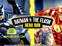 Batman & The Flash: Hero Run v1.1 [Money Mod] Apk
