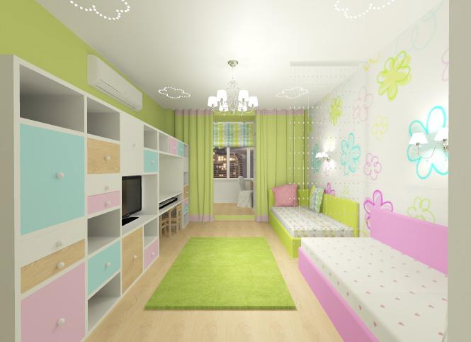 Дизайн детской 16 кв.м для мальчиков