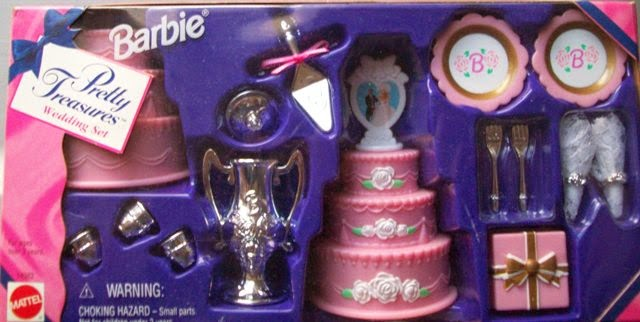 Barbie Pretty Treasures Wedding Set 1996