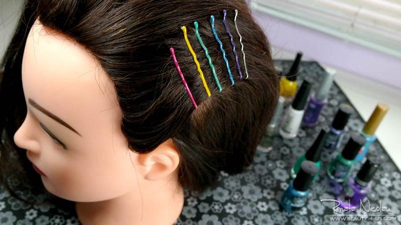 DIY: Grampos coloridos