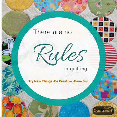 Rules of Quilting Quote Image