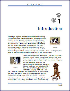 designed ebook page