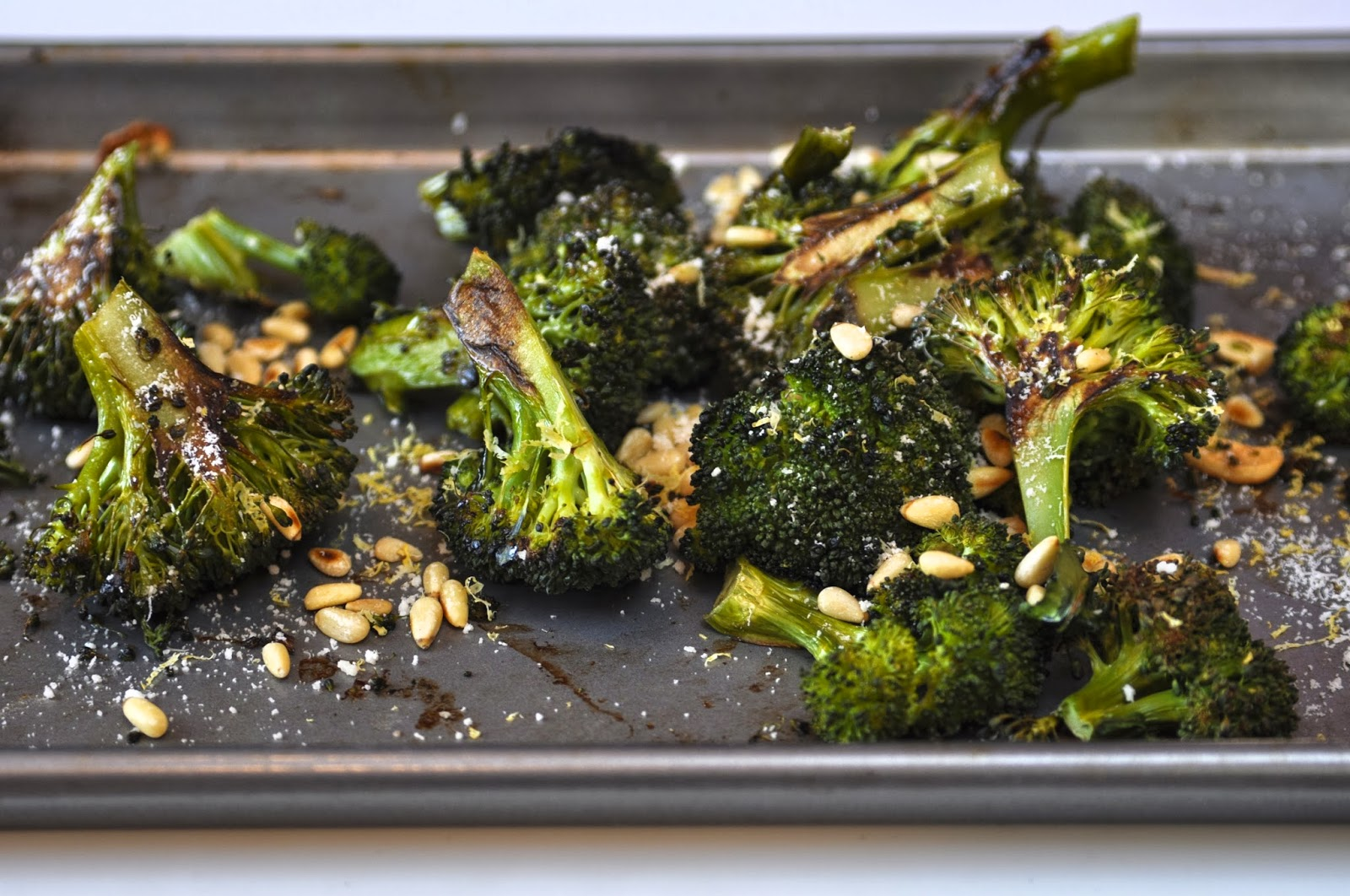 ... Lemons: Roasted Broccoli with Lemon, Pine Nuts, Garlic, & Parmesan