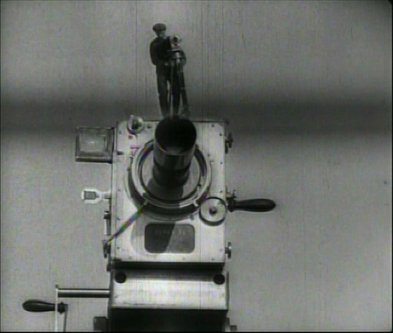 man with a movie camera thesis