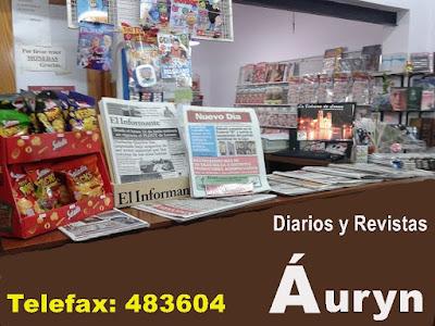 ESPACIO PUBLICITARIO: DIARIERIA AURYN