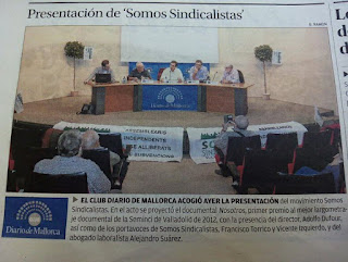 Presentación de ´Somos Sindicalistas´ Illes Balears