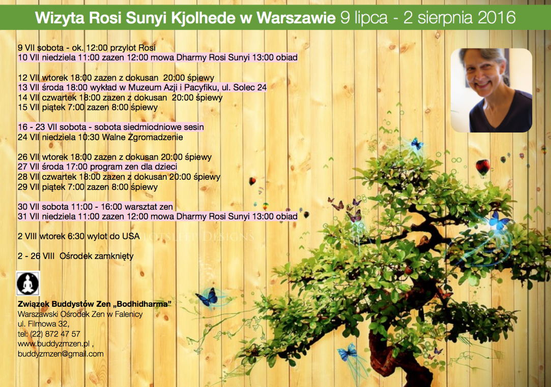 Wizyta Rosi Sunyi Kjolhede w Warszawie
