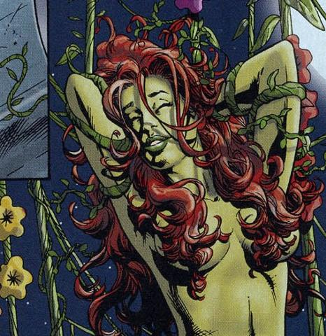 Between batman fucking naked poison ivy