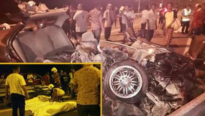 Lagi Kes Kemalangan Maut di LPT2, Ragut 2 Nyawa
