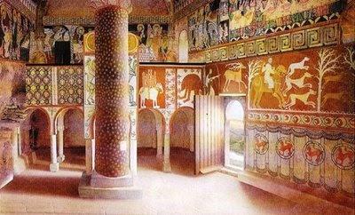 Rural contempor nea el expolio de las pinturas murales de for Arquitectura mozarabe
