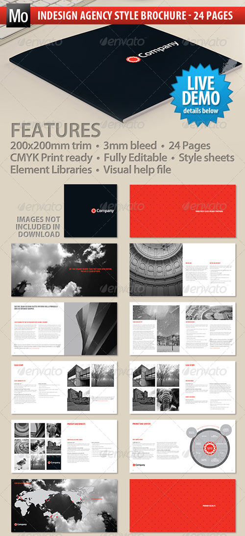 GraphicRiver Agency Brochure - 24 page