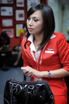Koleksi Foto Pramugari Air Asia