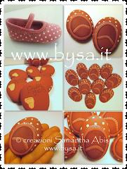NOVITA'-Bomboniere scarpette dipinte su sasso personalizzate con vostra foto scarpina :)