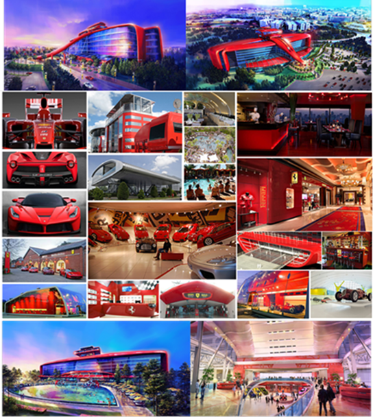 portaventura inaugurera en 2016 ferrari land. Black Bedroom Furniture Sets. Home Design Ideas