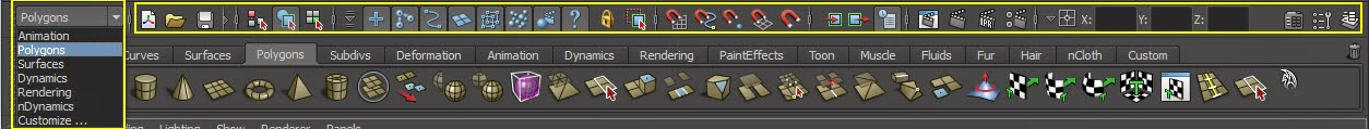 Interface Overview in Maya:Part1 04