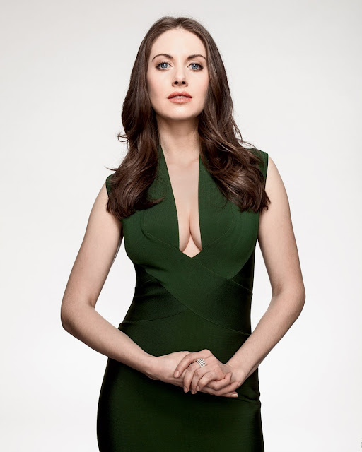 Alison Brie Wired Photo shoot 2013