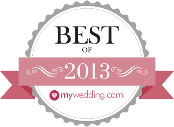 My Wedding Best Wedding Officiant 2013 Award - Kent Buttars and Patricia Stimac, Seattle Wedding Officiants