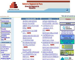 PIURA 2014 Resultados Examen Contrato Docente [19 de Enero] Piura