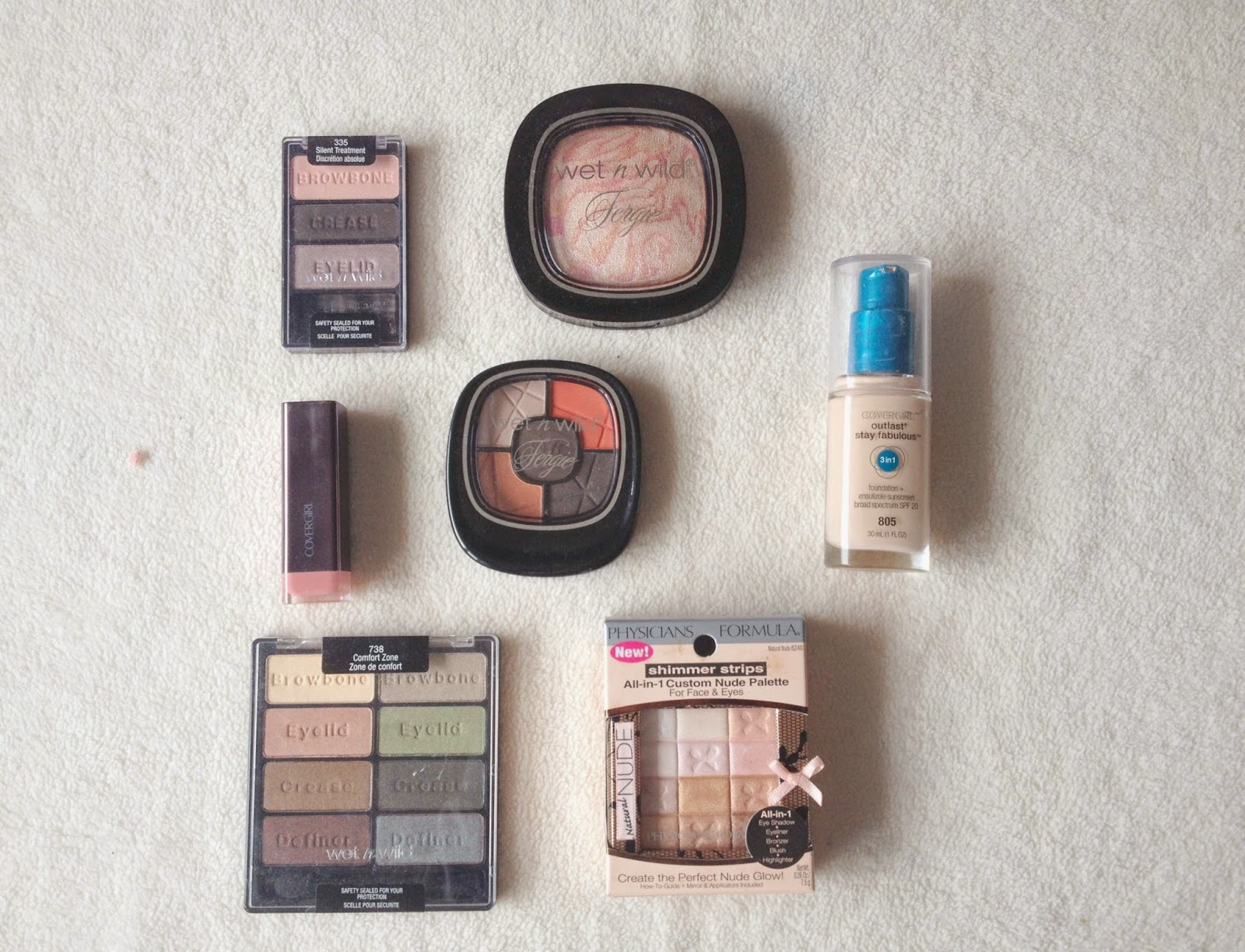 US Beauty Swap featuring Wet n Wild, Covergirl, Physicians Formula