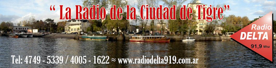 Radio Delta 91.9 Mhz - Ciudad de Tigre