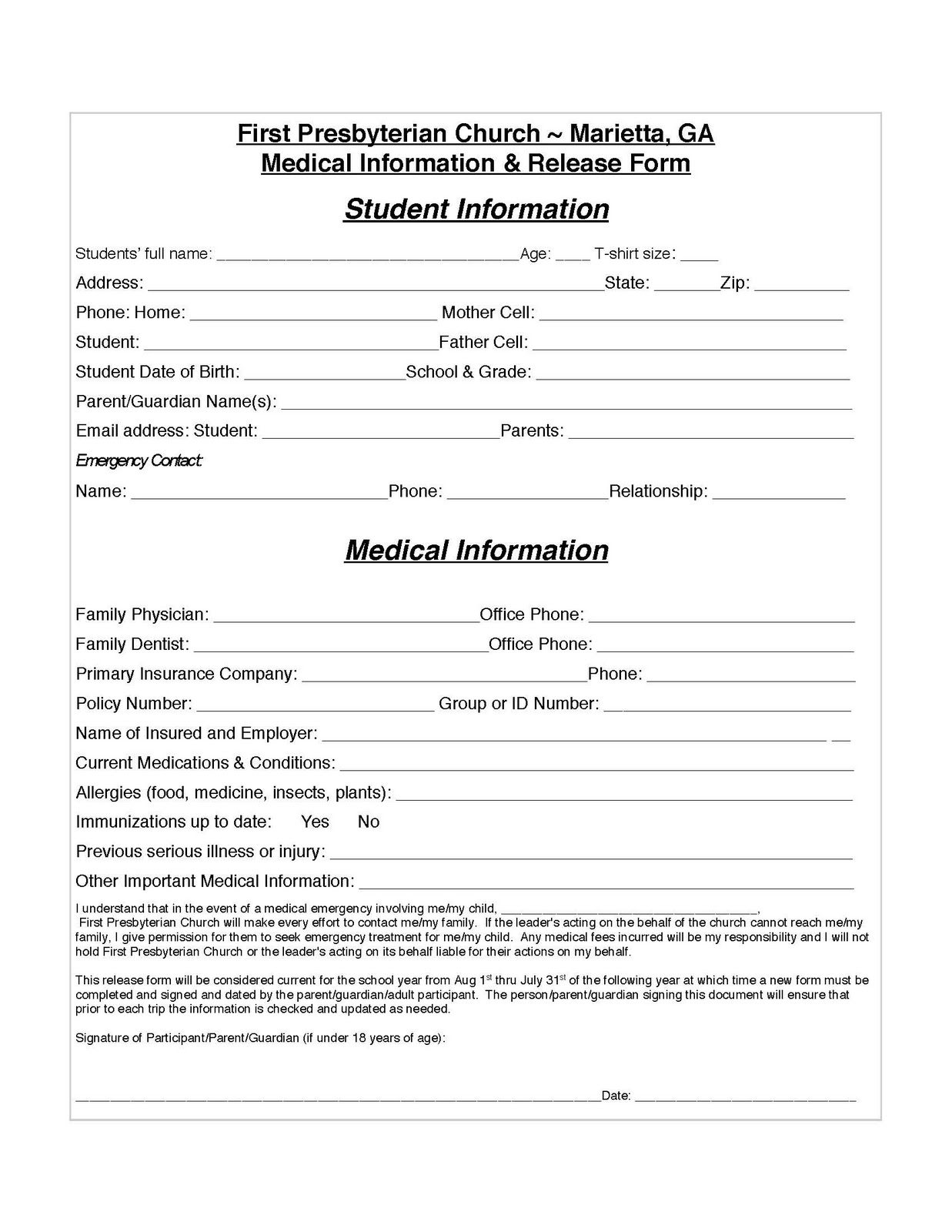 Medical2BRelease2BFormjpg – Medical Authorization Release Form