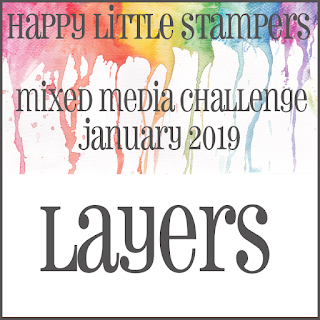 HLS January Mixed Media Challenge