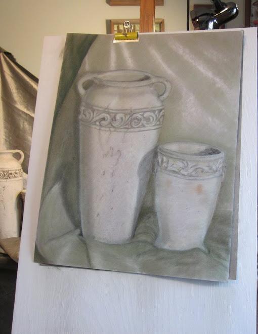 Grecian Urns