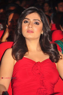 Lucky Sharma Pictures in Red Dress at Paisa Movie Audio Launch 0010