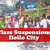 Class Suspensions in Iloilo, October 10