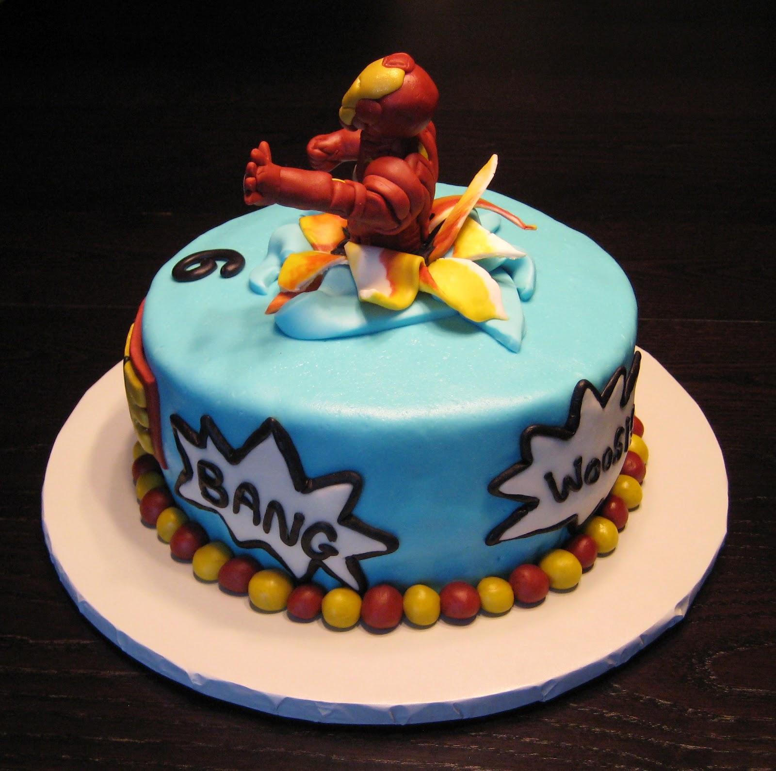 Custom Cakes By Julie: Iron Man Cake