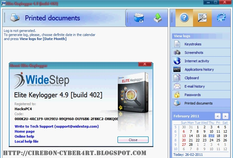 Download widestep elite keylogger (trial)