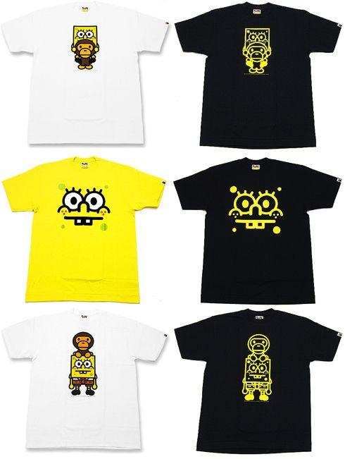 Camisetas Bob Esponja para hombre | Ropa de Hombres
