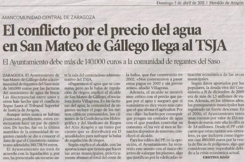 Bienvenidos al blog de los concejales populares decentes - El tiempo en san mateo de gallego ...