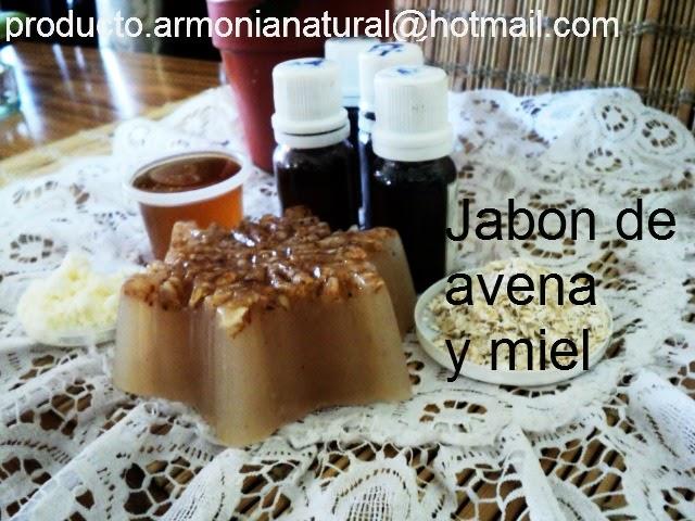 Naturaleza para t jab n de avena y miel - Formula para hacer jabon casero ...