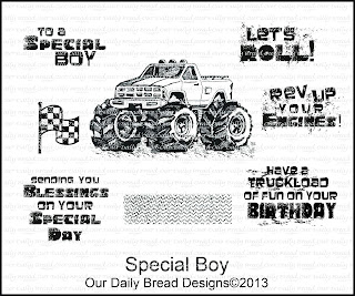 Our Daily Bread designs stamps, Special Boy