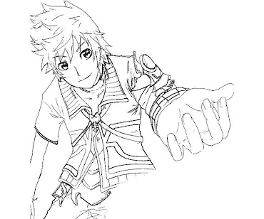 #7 Ventus Coloring Page