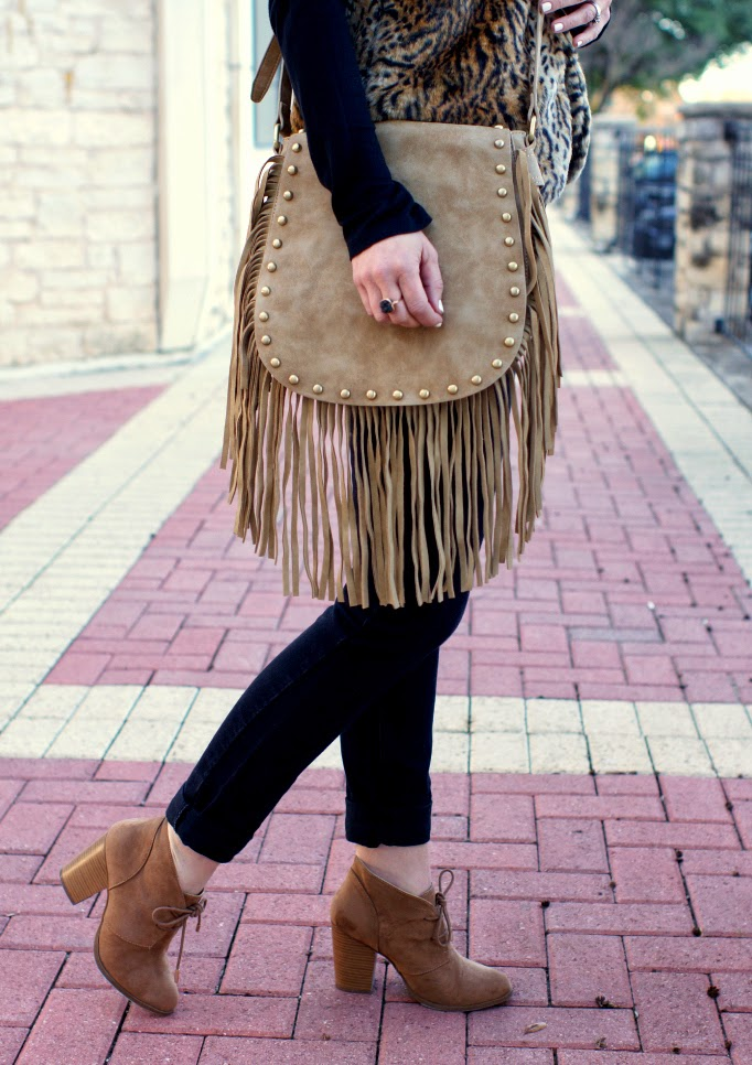 tan suede lace up ankle booties