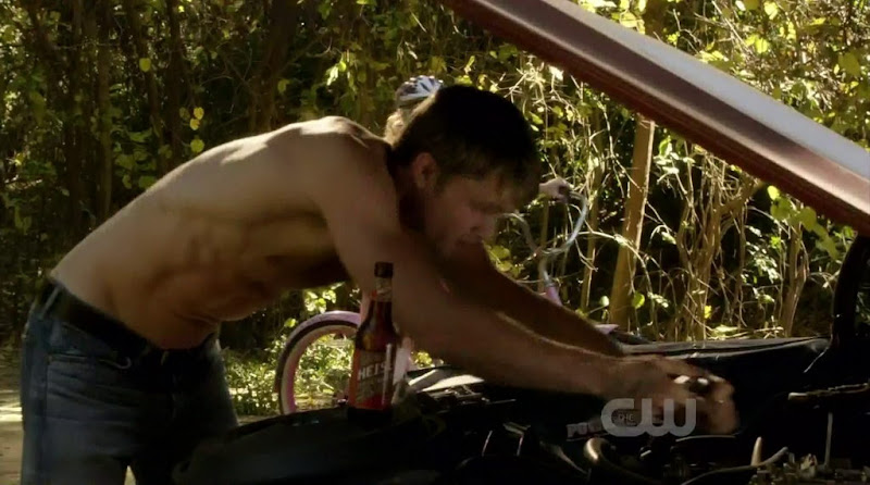 Wilson Bethel Shirtless in Hart of Dixie s1e16