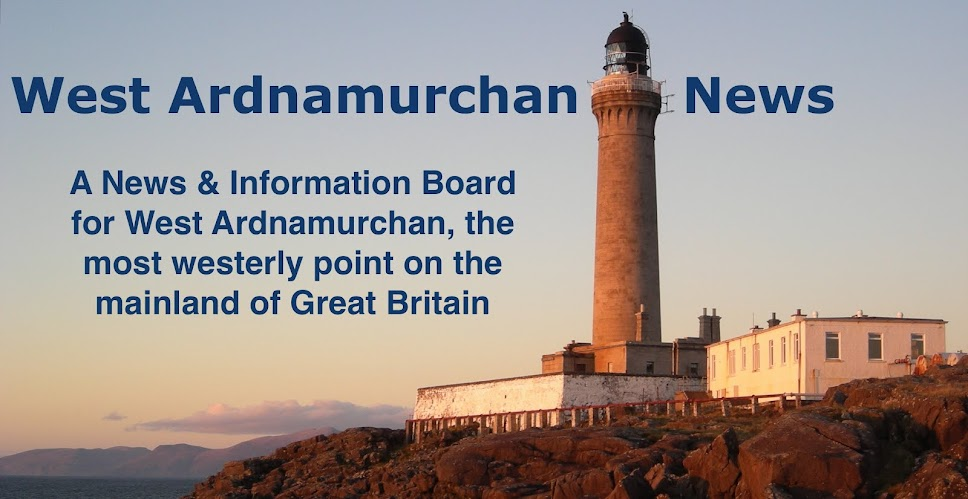 West Ardnamurchan News &amp; Information Board