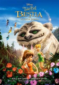 Tinker Bell y la Bestia de Nunca Jamas en Español Latino