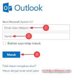 Cara membuka email di hotmail terbaru