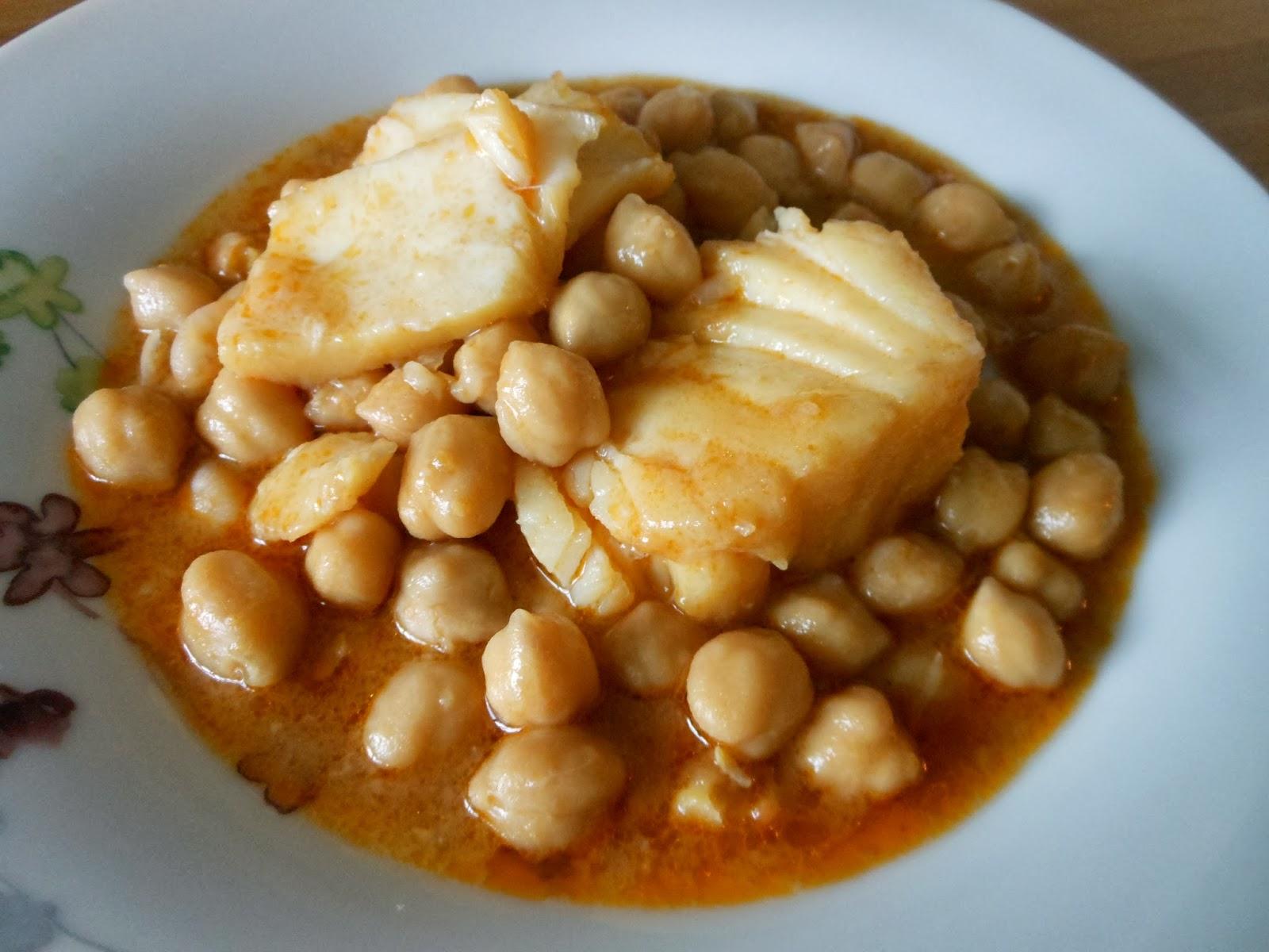 Garbanzos con bacalao cocinar con ciencia - Potaje garbanzos con bacalao ...