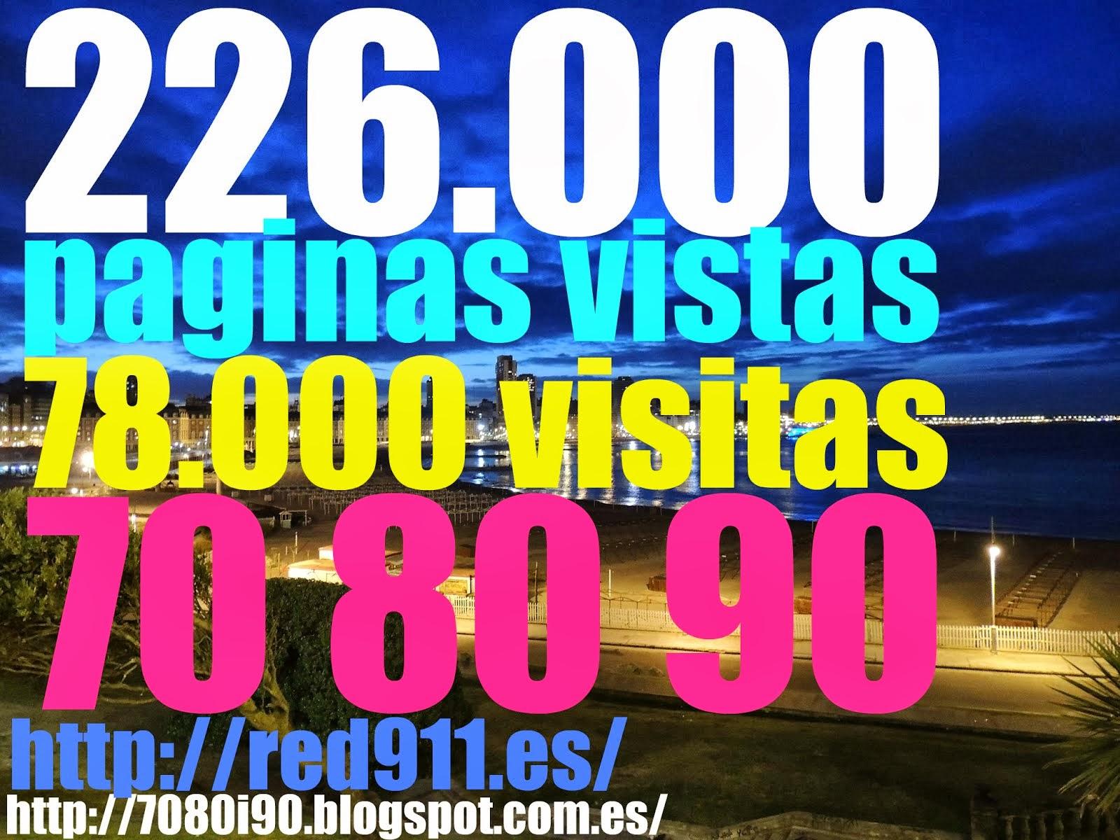 78.000 VISITAS