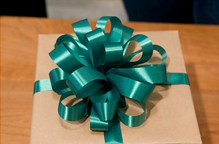 Recicla Inventa Lazos para los regalos de navidad