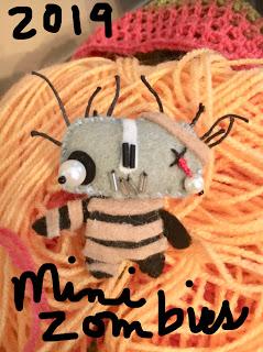 YarniGras Annual Zombie Doll Swap