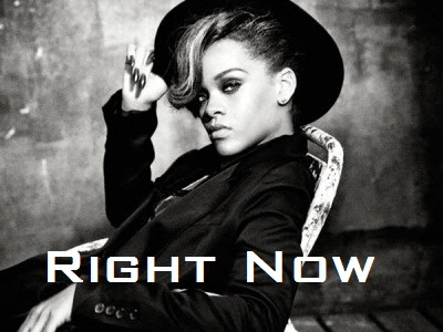 Rihanna - Right Now Lyrics 2012